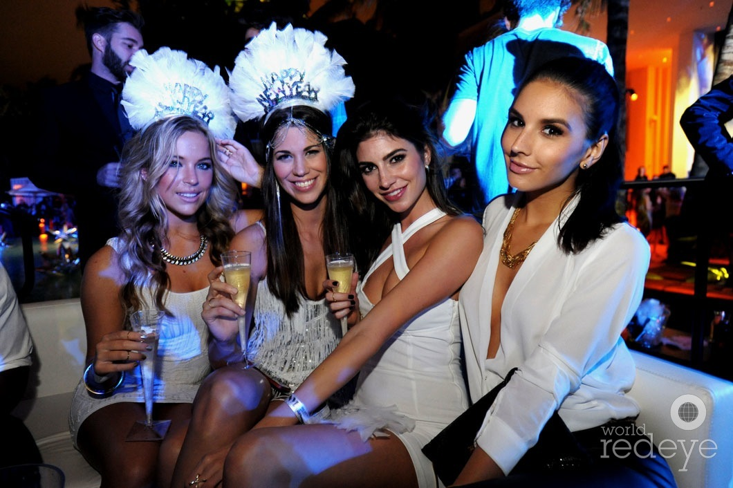 New Year's Eve Party at W South Beach 2015 | Wall Lounge ...