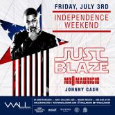 Independence Week: Just Blaze +  Mr Mauricio + Johnny Cash