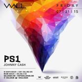 WALLmiami Fridays w/ PS1 + Johnny Cash