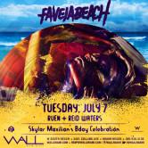 Favela Beach: 7.7.15: Ruen + Reid Waters