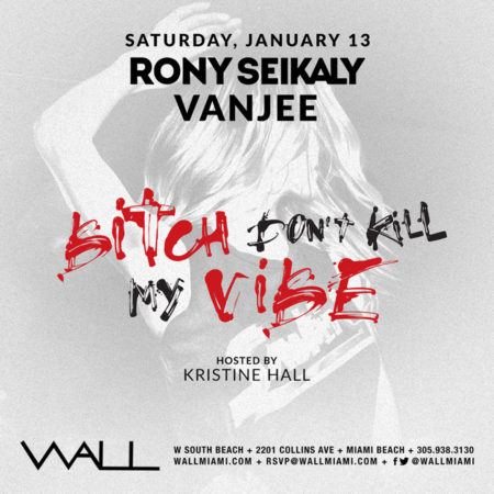 House Saturdays w/ Rony Seikaly + Vanjee