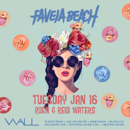 Favela Beach w/ Ruen + Reid Waters