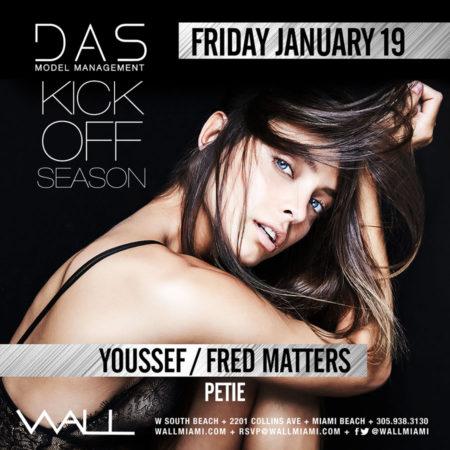DAS Models Kick off Season w/ Youseff + Fred Matters + Petie