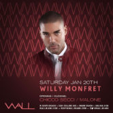 House Saturdays w/ Willy Monfret + Chicco Secci + Malone